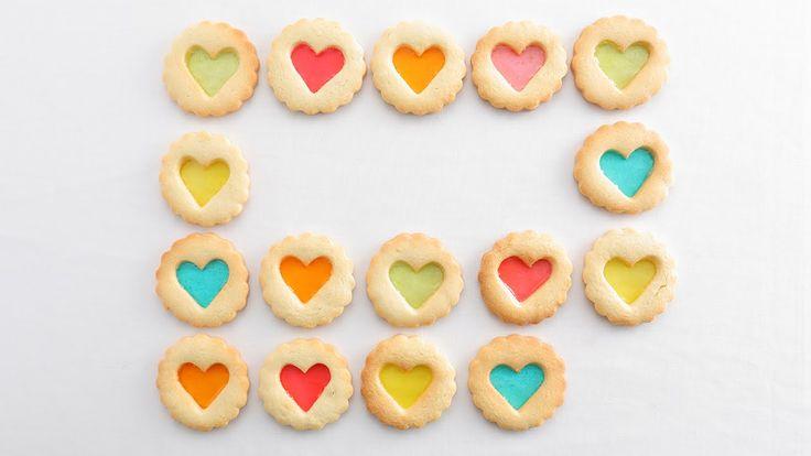 カラフルステンドグラスクッキー<手作りキット>