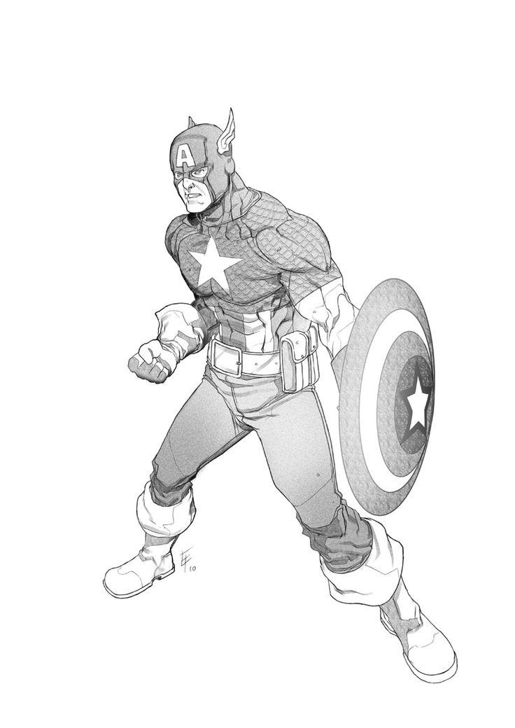 Captain America by ~erufan on deviantART