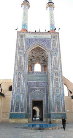 yazd moschea del venerdì