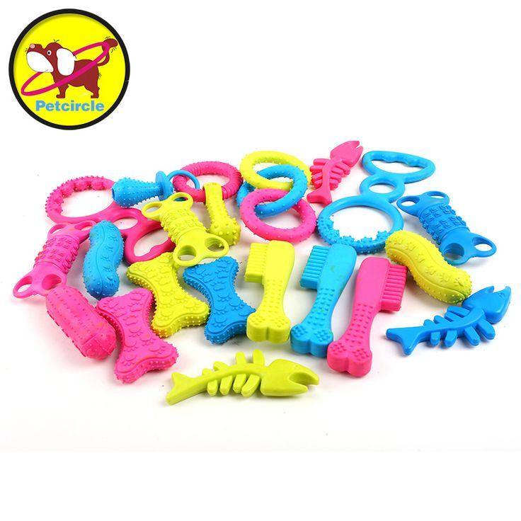 petcircle new arrivals 3 pieces/lot pet dog toys 6 design puppy dog chew toys for chihuahua yorkshire durable rubber dog toys //Price: $9.95      #FirstDayOfSummer