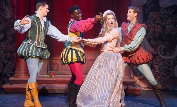 Opera North's sizzling production of Kiss Me Kate comes to the Coliseum for one week only