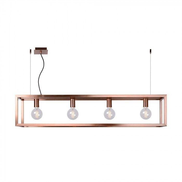 Oris 4 - koperen hanglamp