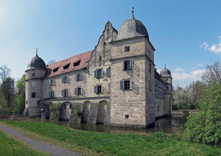 """Schloss Mitwitz - Schauplatz aus dem Märchenfilm """"Die drei Federn"""""""