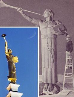 12 cosas acerca de la estatua del ángel Moroni | Los Mormones