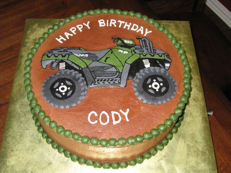 Wheeler cake — Birthday Cakes