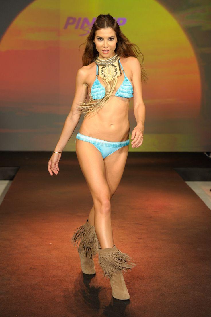 #Swimontecarlo: #PinUpStars #catwalk #SS2014 #beachcouture #swimwear #bikinology