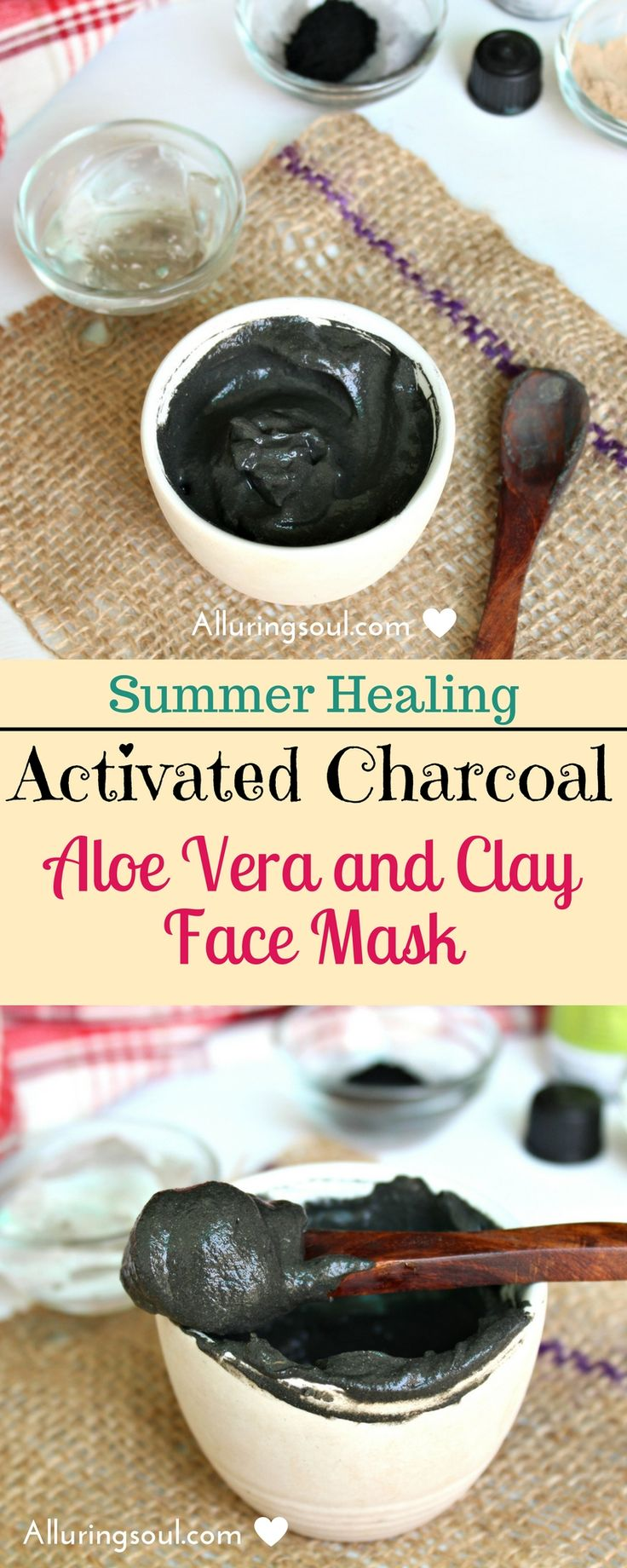 Activated charcoal face mask can heal your sunburnt skin with gentle exfoliation. It hydrates skin as well as reverses sun damages to skin.