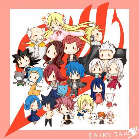 Cute Chibi Fairy Tail MangaGrounds - Read Fairy Tail Manga Online | Fairy Tail Forums