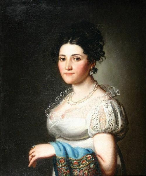 Portrait of Zofia Brzezicka, Daniel Kondratowicz