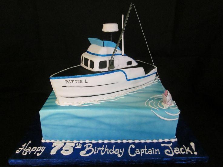 Boat Birthday Cake Images : 25+ Best Ideas about Boat Cake on Pinterest Nautical ...