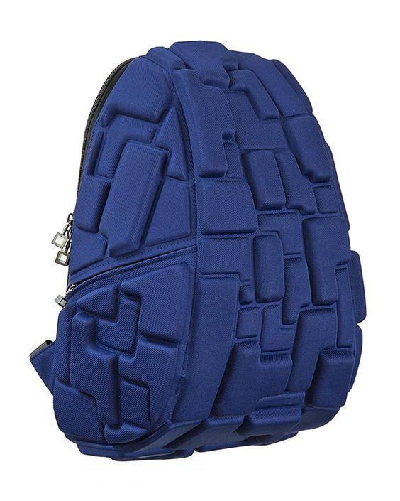 Rucsac Madpax, Blok Full Albastru http://www.rechizitelemele.ro/rucsac-blok-full-albastru