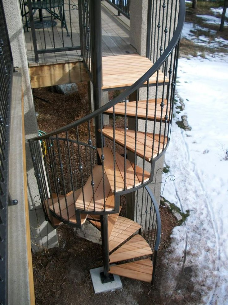 Exterior Circular Staircase   Google Search