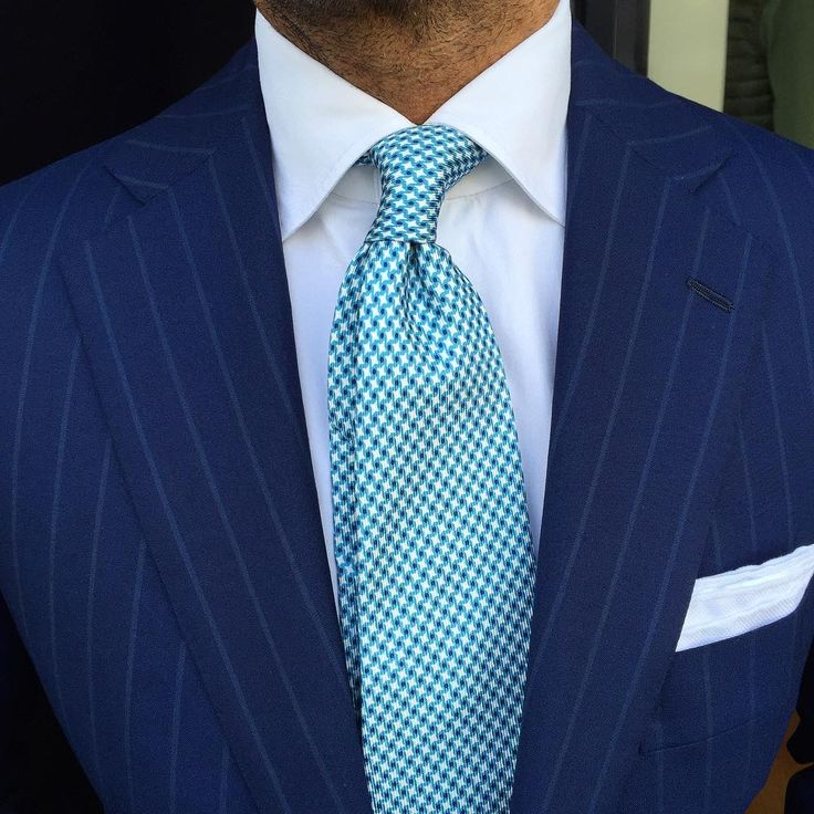 """946 Likes, 7 Comments - VIOLA MILANO (@violamilano) on Instagram: """"The perfect match by @suitwhisper ➡ Viola Milano """"Star Pattern self-tip silk - Turquoise"""" tie &…"""""""