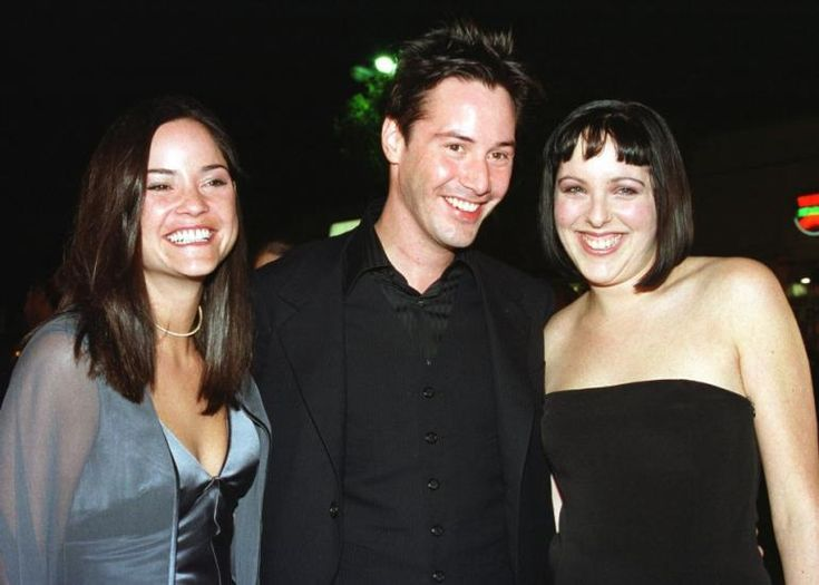 actorkeanureeves amp sisters inky black pinterest
