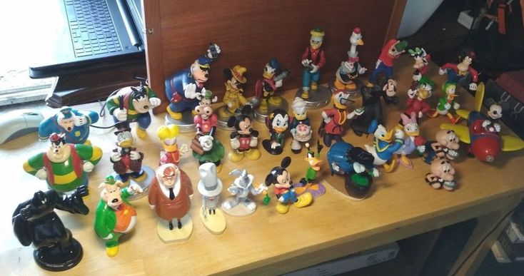 Deagostini Figures Lot of 33 Figures Disney & Warner Bros  #Deagostini