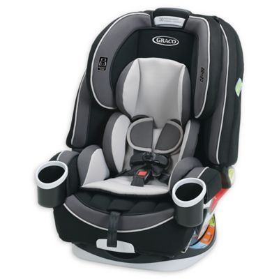 60f38d7bd Graco 4Ever All-In-1 Convertible Car Seat In Tambi Black/light Grey ...