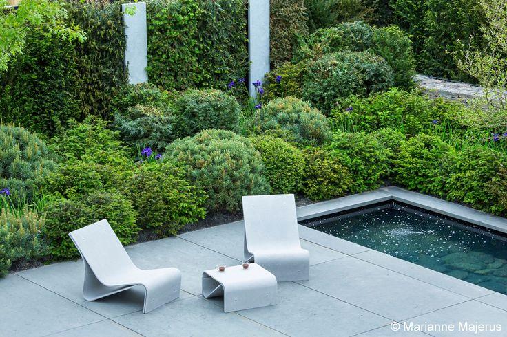 Malvern Hills Contemporary Garden - Designed by Matt Keightley of Rosebank Landscaping - Photography by Marianne Majerus