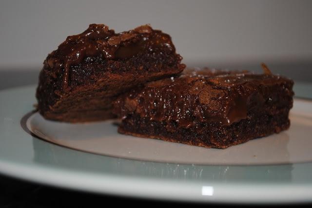 Create.Bake.Celebrate: {bake} Chocolate Caramel Salted Brownies
