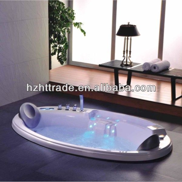 Indoor Whirlpool Hot Tub Led Light Luxurious Whirlpool Drop-in Two People Bathtub , Find Complete Details about Indoor Whirlpool Hot Tub Led Light Luxurious Whirlpool Drop-in Two People Bathtub,Drop-in Two People Bathtub,Hydromassage Bathtub Heater,Double Whirlpool Bathtubs from Bathtubs & Whirlpools Supplier or Manufacturer-Hangzhou Haotai Trading Co., Ltd.