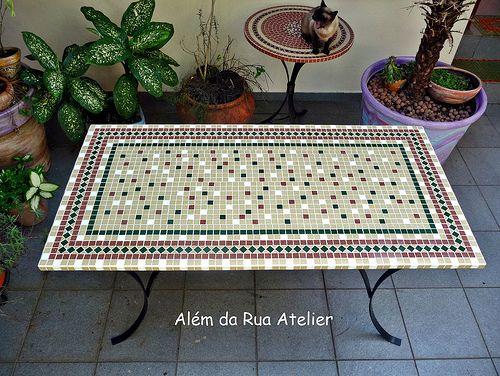 25 melhores ideias sobre tampos de mesa em mosaico no for Mesas de mosaico