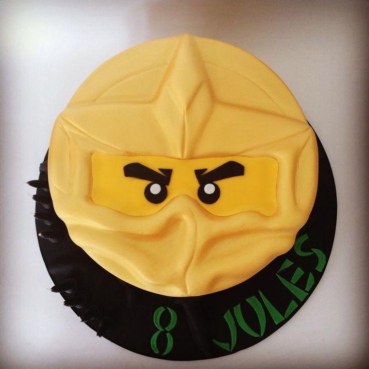 Lego Ninjago Golden Ninja Cake
