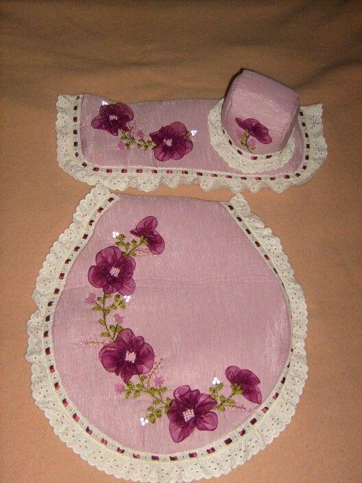 Juego de baño palo de rosa
