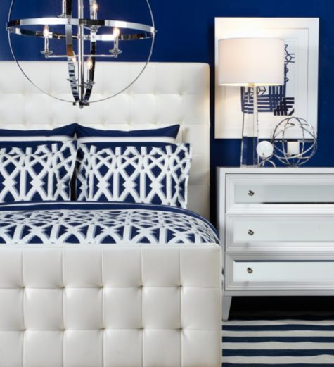 bed white from z gallerie dreams bedrooms blue emin bedrooms