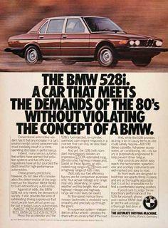 BMW ad 80s - Google Search