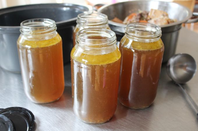 Great recipe for good tasting bone broth with star anise, ginger, cinnamon etc.
