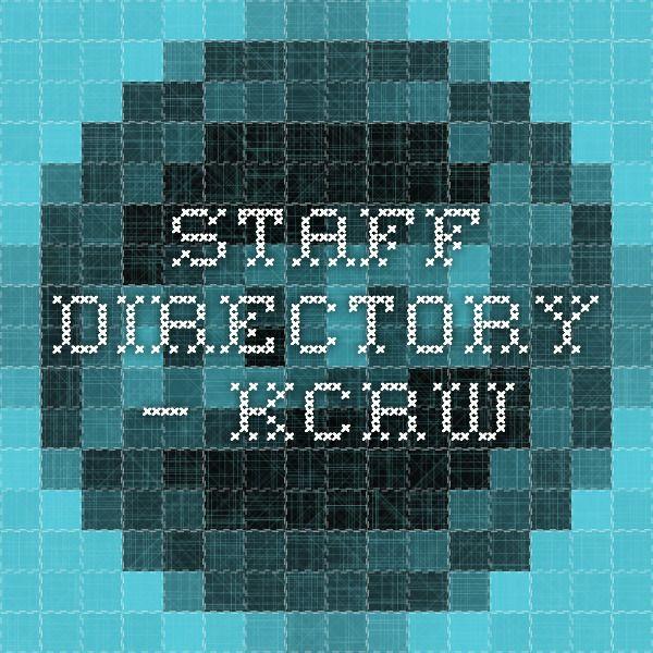 Staff Directory — KCRW