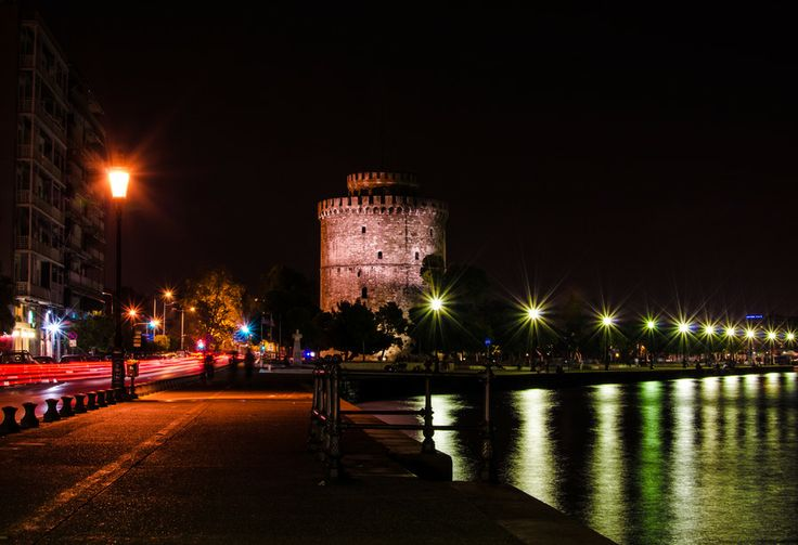 Colors | White Tower | Thessaloniki by Evangelos Loutsetis on 500px