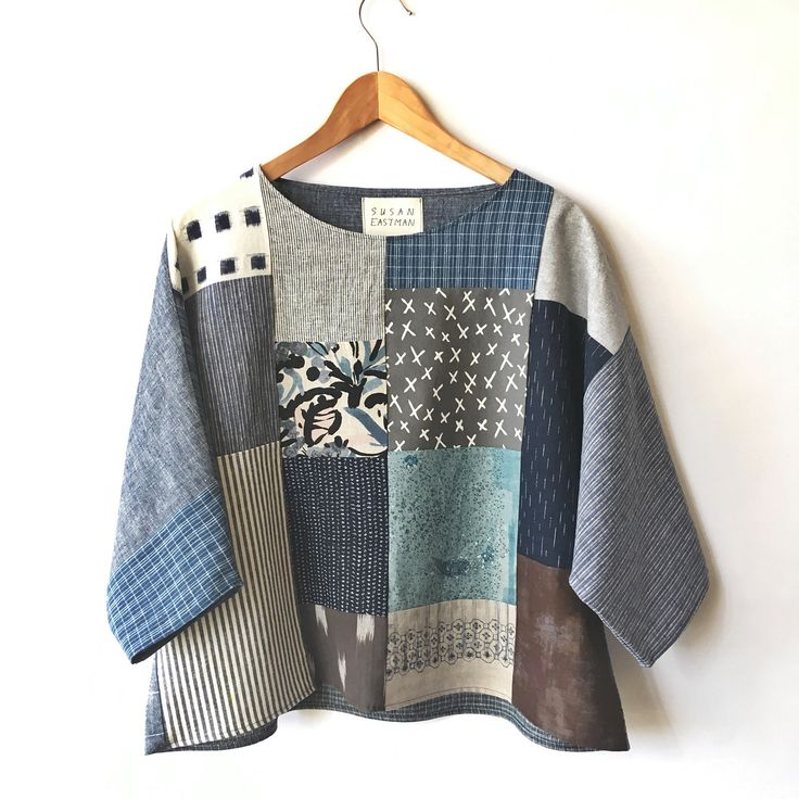 "262 Likes, 4 Comments - Susan Eastman (@susaneastmanstudio) on Instagram: ""new patchwork #slowfashion #handmade #patchwork #top #style #spring #susaneastman"""