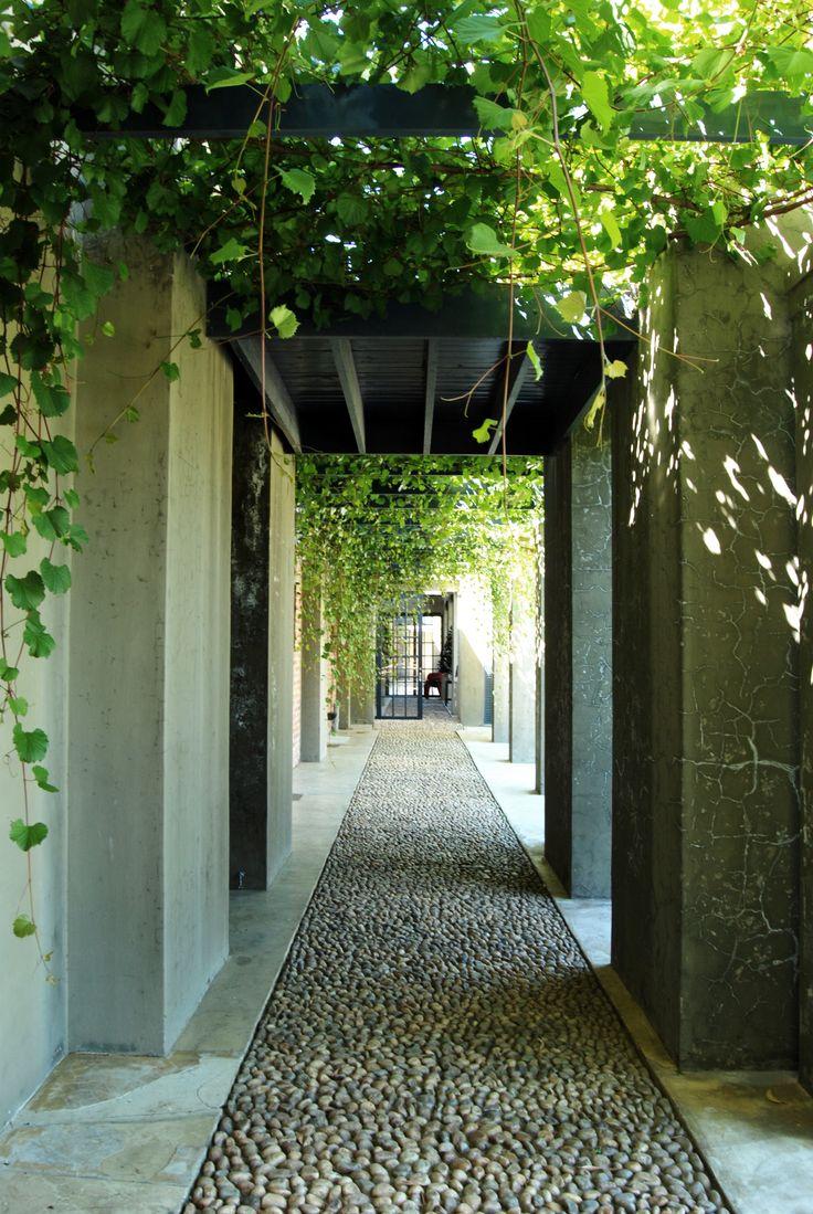 Saronsberg Cellar entrance