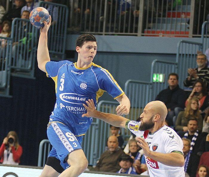 Simon Ernst vom VfL Gummersbach wird für das DHB-Team nachnominiert.