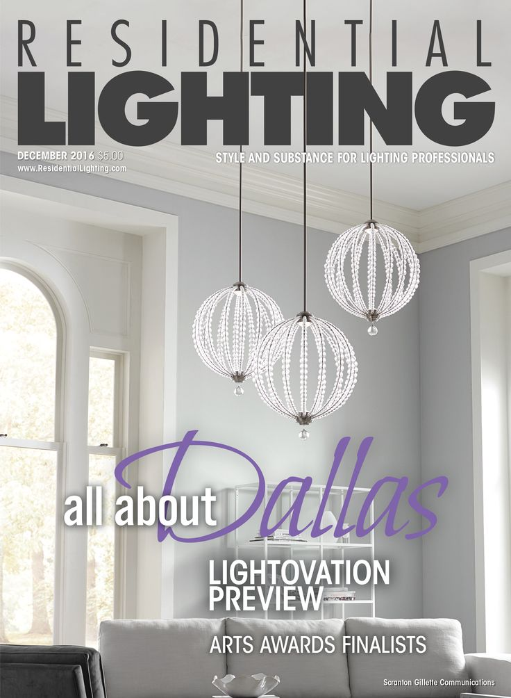 The Last Issue Of Residential Lighting Features A Feiss Pendant On Cover You Can