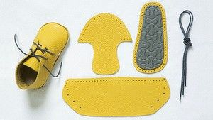 Made with love: The Aki shoe kit.