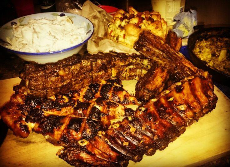 Braai day rib and chicken combo