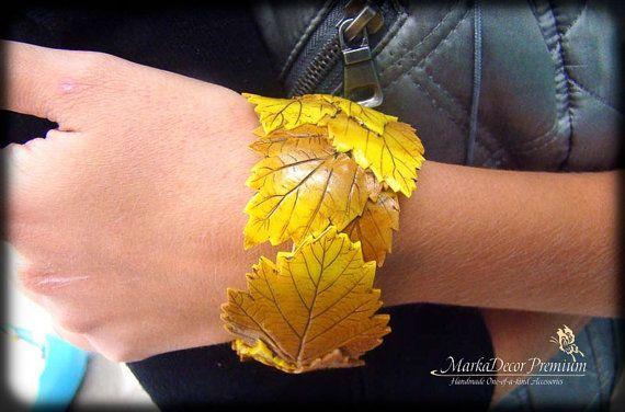 Birthday Bridal Jewelry Tree Autumn Bracelet by MarkadecorPremium