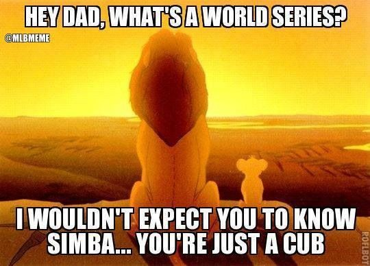 Chicago Cubs meme (Go Cardinals!)