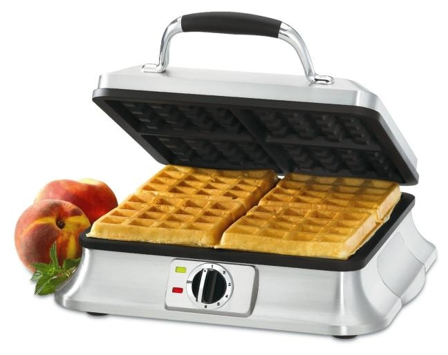4 slice waffle maker from Home Outfitters. Because waffles are delicious.