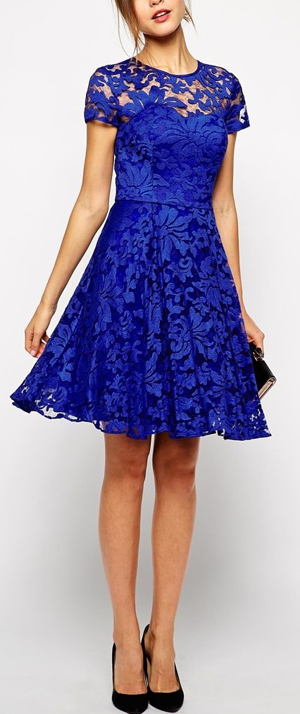 Gorgeous lace dress by Ted Baker London http://rstyle.me/n/r74jwn2bn