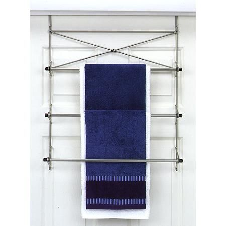 Zenith Products Over The Door Towel Rack  2526NN - Walmart.com