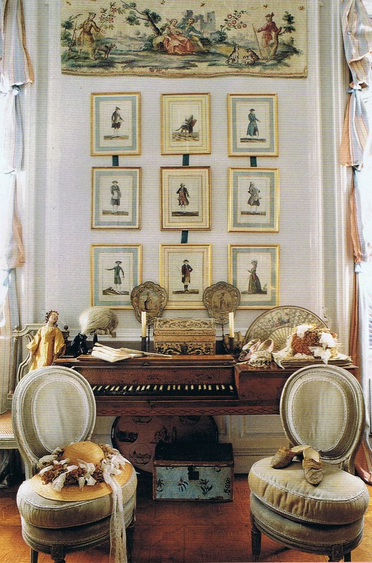 French Interiors 1071 Best Interiors Images On Pinterest  French Interiors