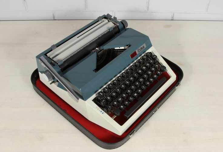 Машинка пишущая Erika (ГДР)