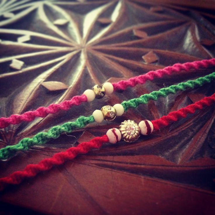 Handmade Rakhis/friendship bracelets