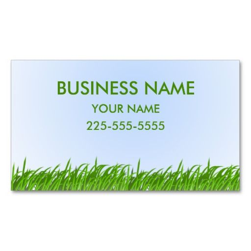 209 best lawn care business cards images on pinterest business lawn care business card wajeb Image collections