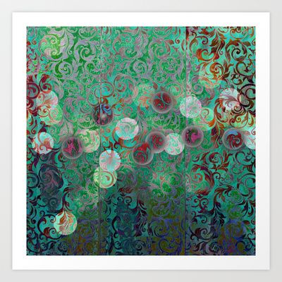 Mix it up collection 1 Art Print by Truly Juel - $16.00