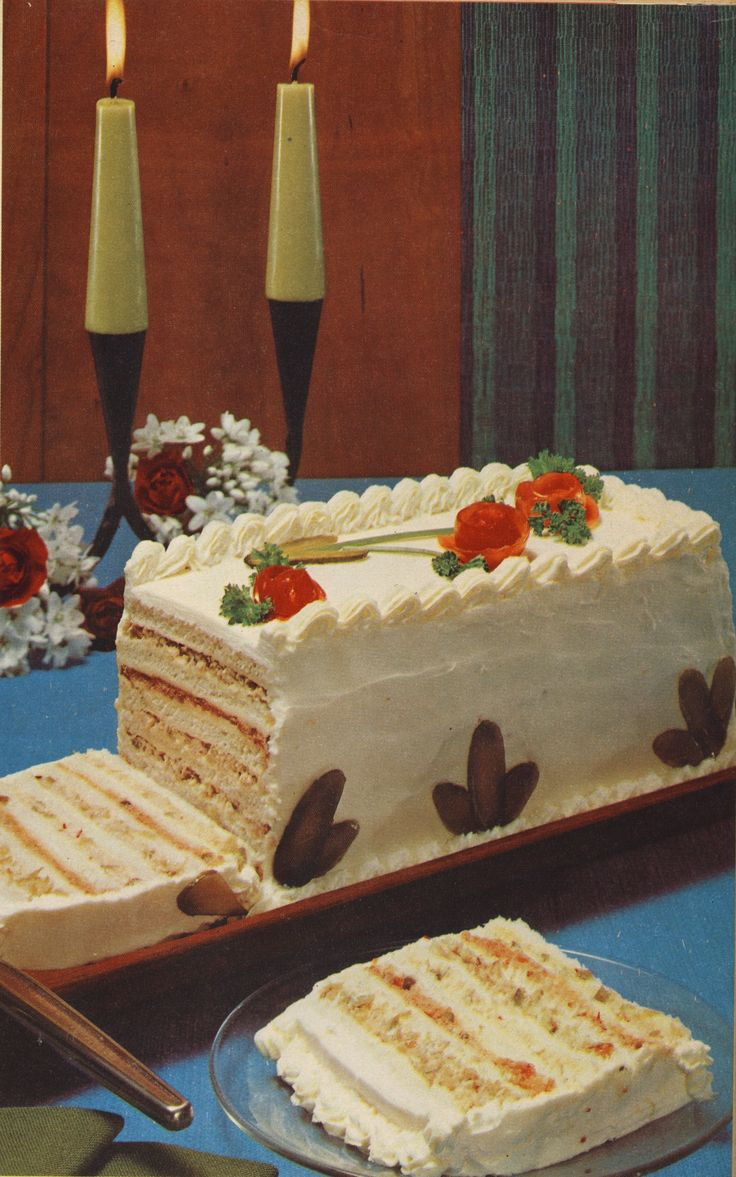 Recreating the Seven-Layer Sandwich Cake from Bon Appétit 1969 - Bon Appétit