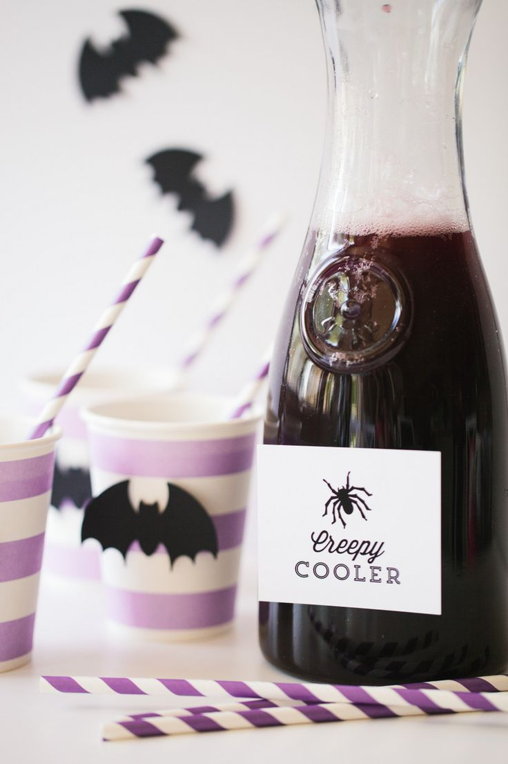 Lisa b mrs s halloween decorating with kids in three easy steps - 5 Halloween Drinks For Kids