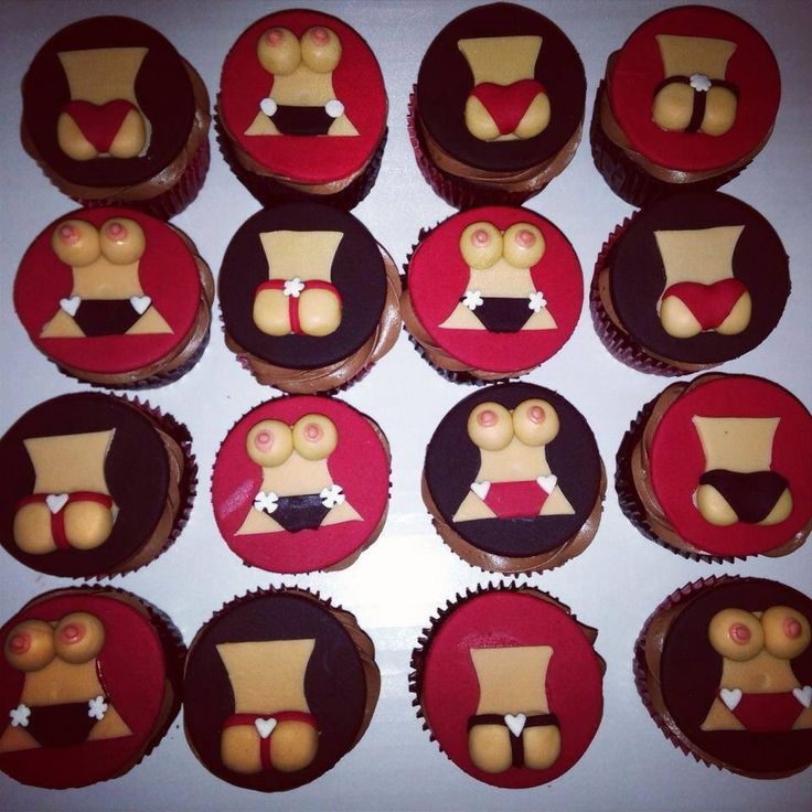 Cupcake Decorating Ideas For Adults : Adults Only Cupcakes X-Rated ***** Custom Cakes and Treats ...